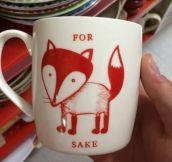 Foxy New Mug