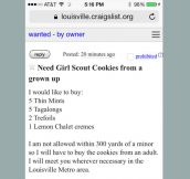 Craigslist Cookie Guy