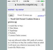 Craigslist Cookie Guy