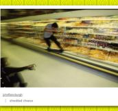 Skating over cheese…
