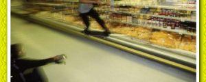 Skating over cheese…