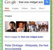 Never underestimate Google's search power…