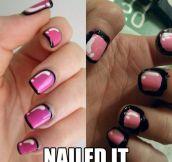 Nail art fail…