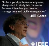 Bill Gates Is My Mentor
