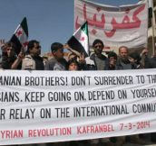A message from Syrians to Ukrainians…