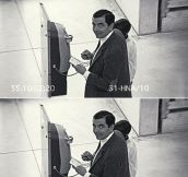 That Moment When You See a Security Camera