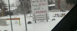 Do your part for a better Detroit…