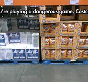 Careful Costco