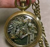 Incredible Steampunk Styled Watch