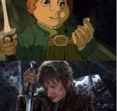 Hobbit 1977 – 2012 (10 pics)