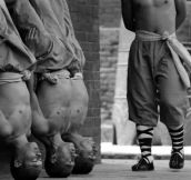 How Shaolin monks train for the martial arts..Requires Lots of Patience And Dedication