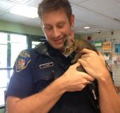 Police Officer Who Saves Cats And Dogs Is Winning The Hearts Of Animal Lovers Across The Country
