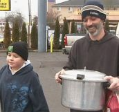 Child Battling Cancer Feeds The Homeless: 'It's What Makes Me Feel Good'