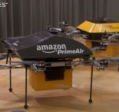 Amazon.com's New Delivery Method Will Blow Your Mind