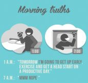 9 Morning Truths : Why Waking Up Early Sucks