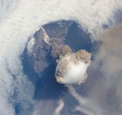 15 Volcanic Eruptions Seen from Space