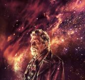 Doctor Who art by Alice X. Zhang