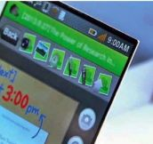 A Cellphone thinner than paper and stronger than metal