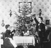 One Couple's Christmas Card Portraits from 1900 – 1942