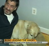 A Blind Man Was Kicked Off A Plane. What Happened Next Was Incredible