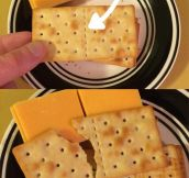 I don't trust crackers
