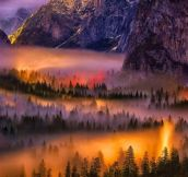Yosemite at it's best.