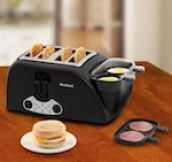 This toaster that can make a english muffin with ham, egg, cheese, and toast (obviously) all at once!