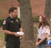 Teen Gives Police Officer Handwritten Parking Ticket. Officer Pays Fine And Issues Reward