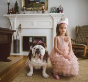 The Awesome Bond Between A Girl And Her Bulldog