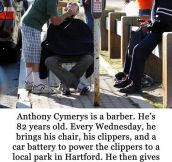 We need more people like Anthony in this world…