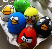 How Amazing Are These Angry Birds Easter Eggs