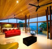 "Livingroom of ""The Luxury Fisher House"", designed by Guz Architects"