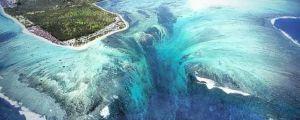 Underwater Waterfall