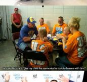 John Cena With Make-A-Wish Kids