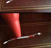 DIY Coil iPhone Cable
