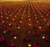 100,000 Monks Praying