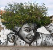 When street art meets horticulture