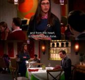 Sheldon, The Romantic