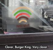 Free Burger Signal