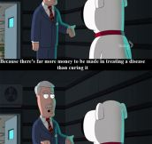 Family Guy Telling It Like It Is