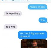 Who's Who? It's Yoo Hoo
