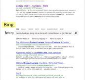 Bing It On…No, Actually, Forget It, I'll Just Google It