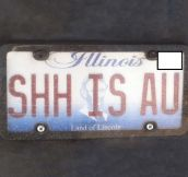 Smart Licence Plate