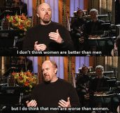 Louis C. K. On Women and Men Differences