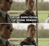 Touche, McConaughey. Touche.