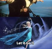 Elsa Joins Titanic