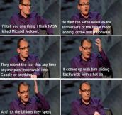 Sean Lock's Conspiracy Theory