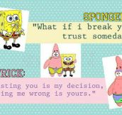 Patrick, You're So Wise