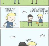 Where Where You When Winter Stroke?