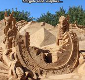 Incredible Sand Work